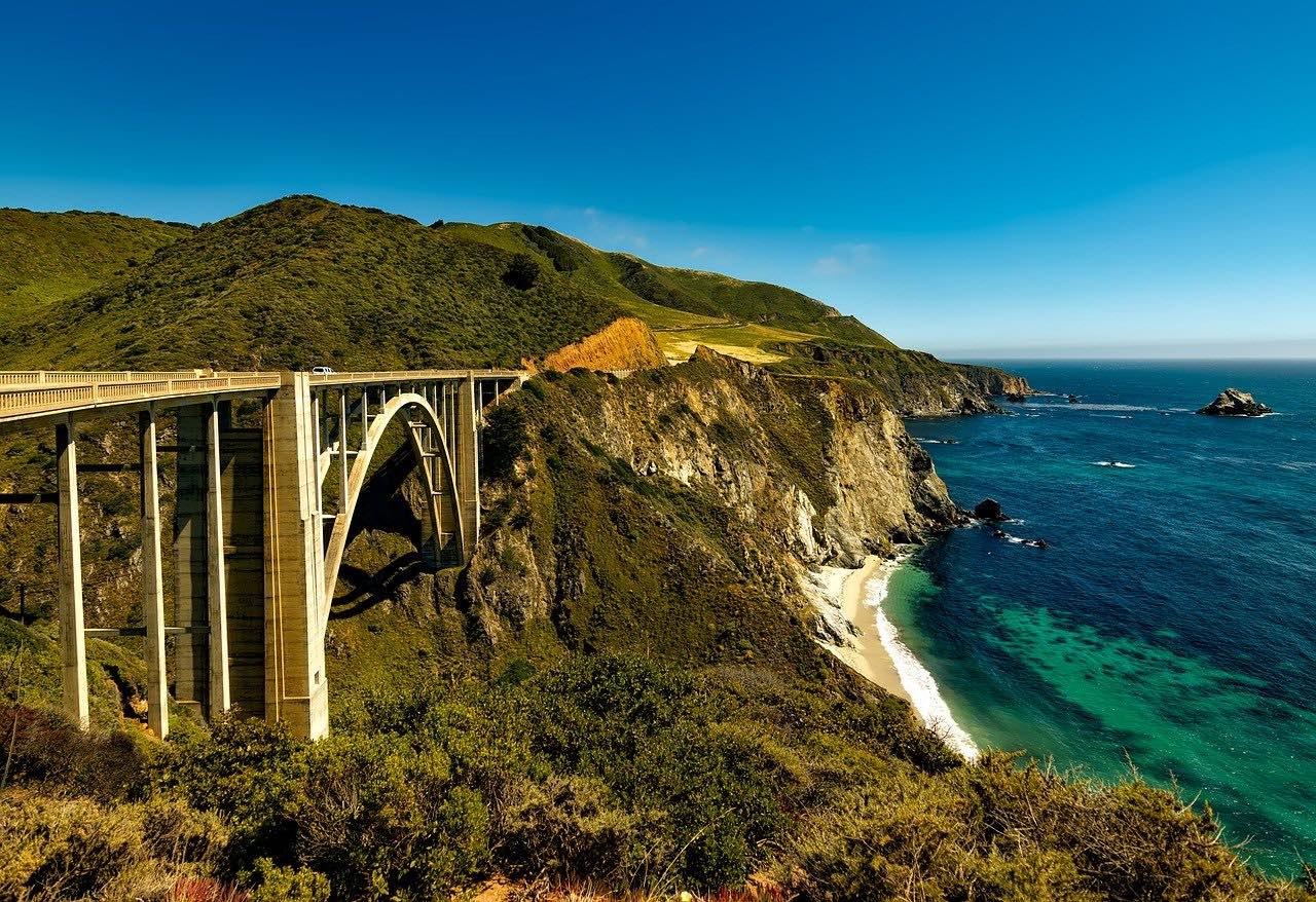 pacific-coast-highway california USA_PD
