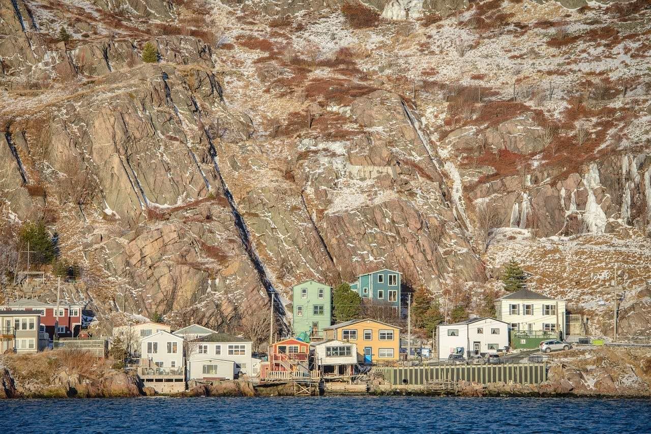 Battery Newfoundland_St John's Saltbox_Canada_PD
