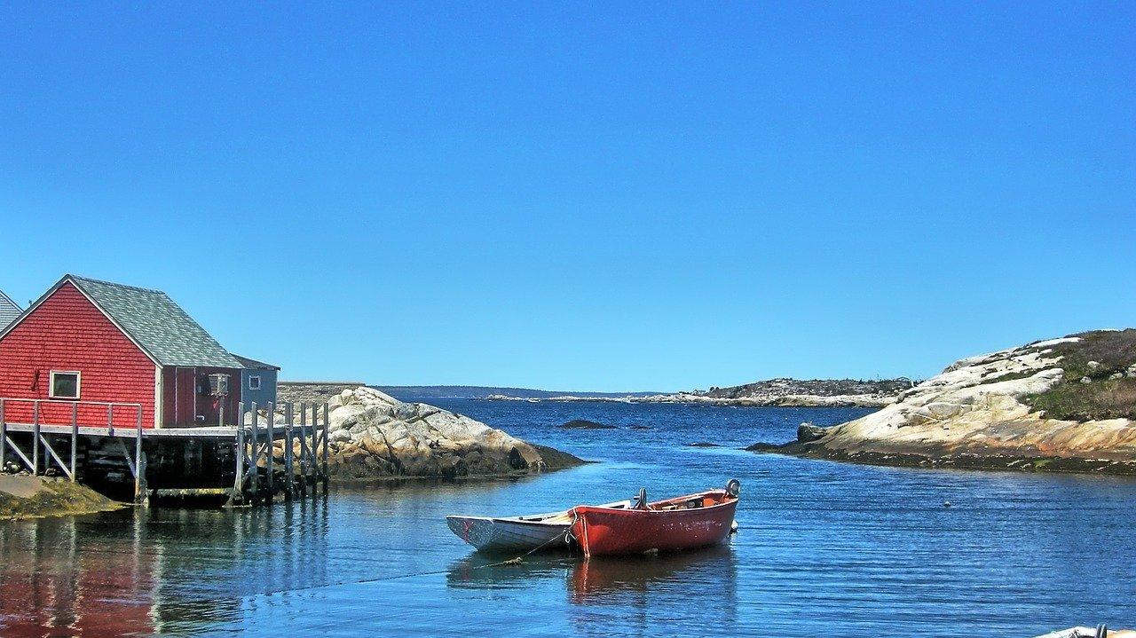 Peggy's Cove Nova Scotia Canada_PD
