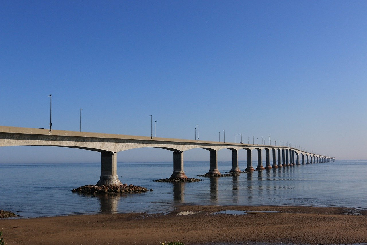 Prince Edward Island_Confederation Bridge_Canada_PD