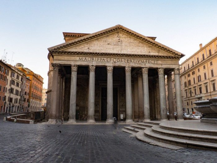 Rome Pantheon_Italy_PD