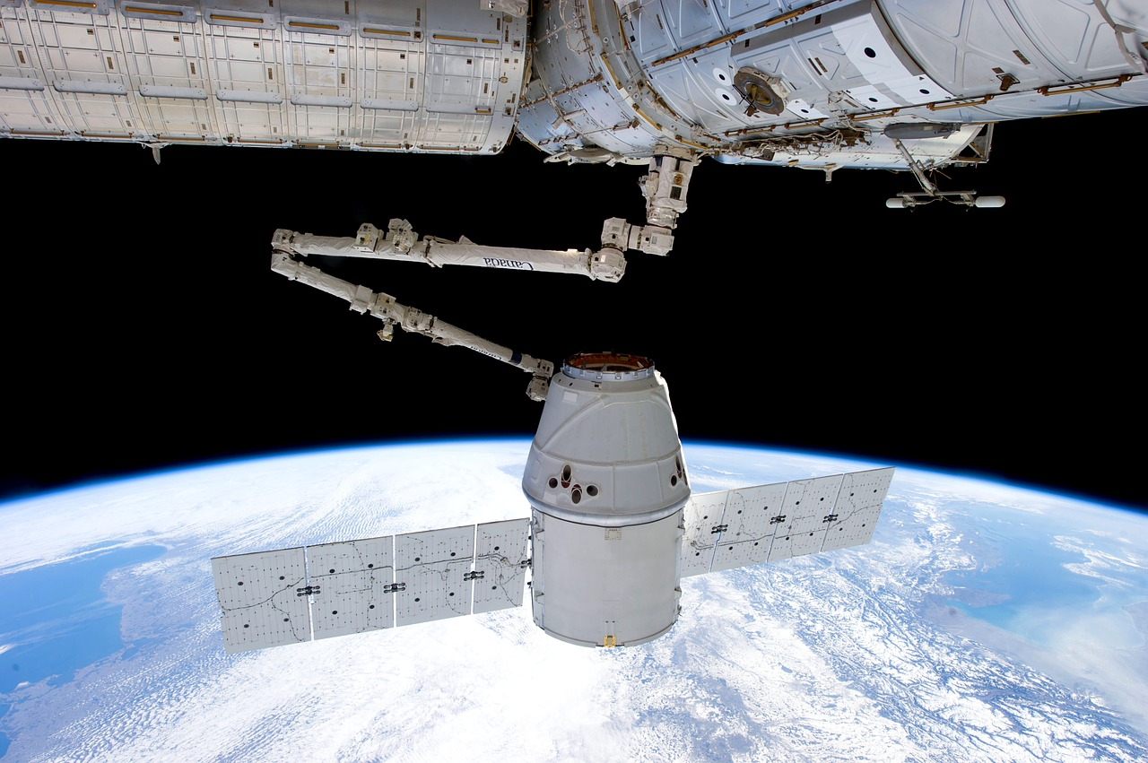 Satellite NASA_SpaceX_ISS_PD
