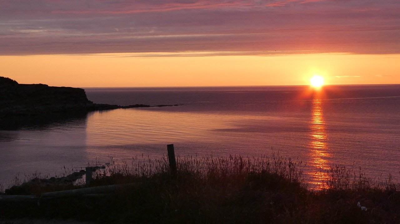 Sunset in Newfoundland_Canada_PD